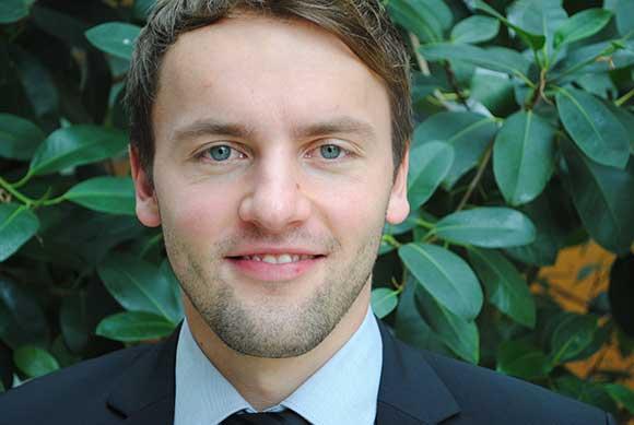 Porträt von Patrick Herrmann