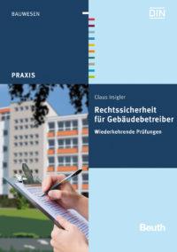 """Buchcover """"Rechtssicherheit für Gebäudebetreiber"""""""