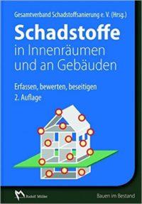 """Buchcover """"Schadstoffe in Innenräumen und an Gebäuden"""""""