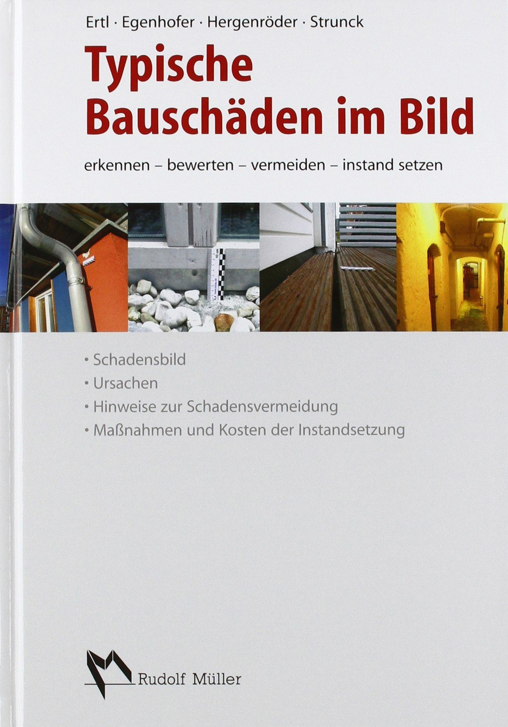 """Buchcover """"Typische Bauschäden im Bild"""""""
