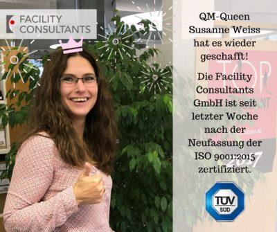 Bild mit Susanne Weiss mit Infos über Zertifizierung