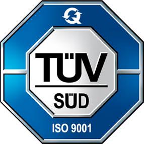 Logo von TÜV Süd ISO 9001