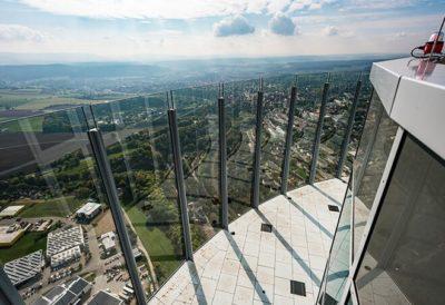 Bild des thyssenkrupp Testturm in Rottweil