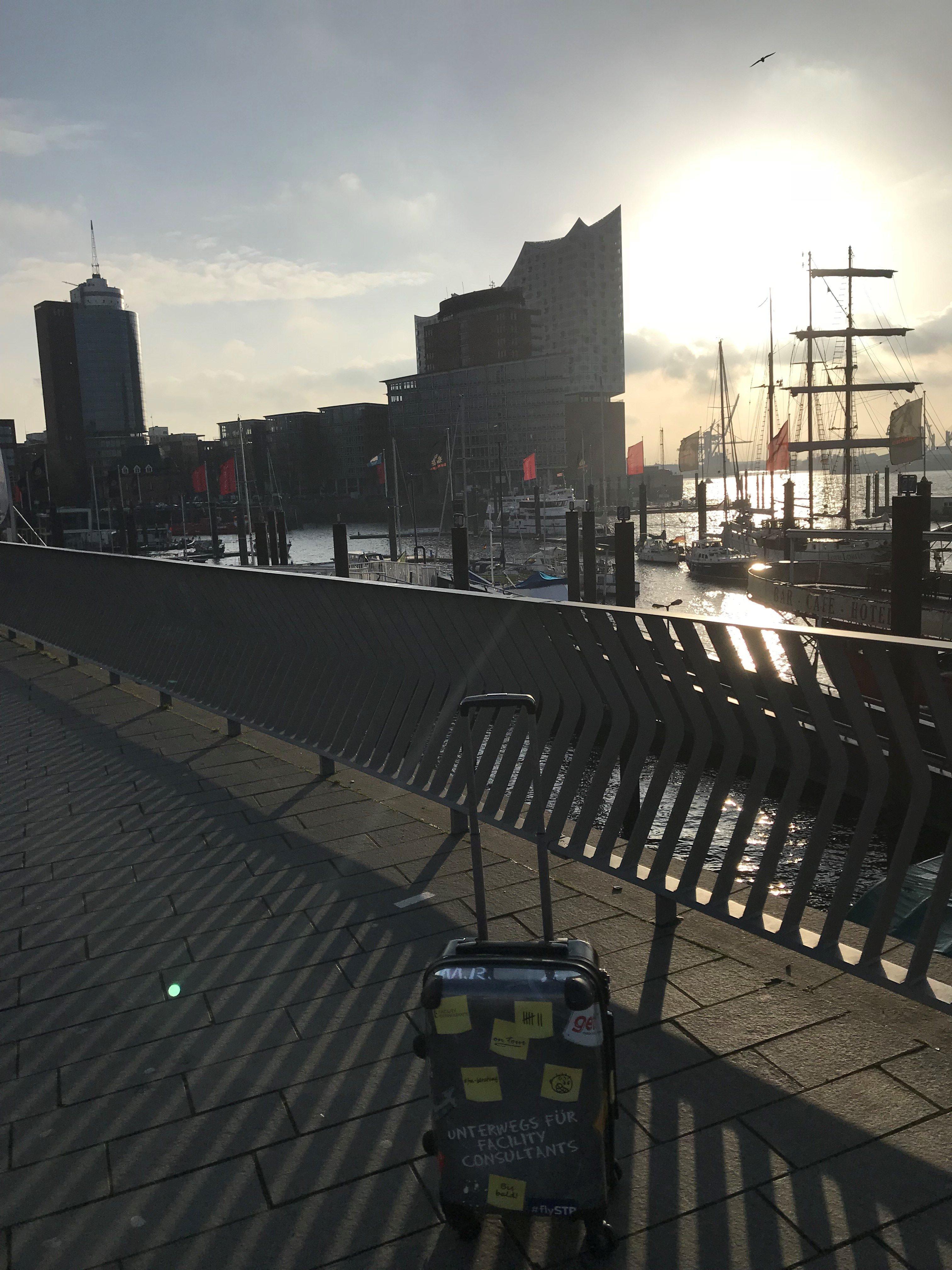 Bild mit Elbphilharmonie in Hamburg