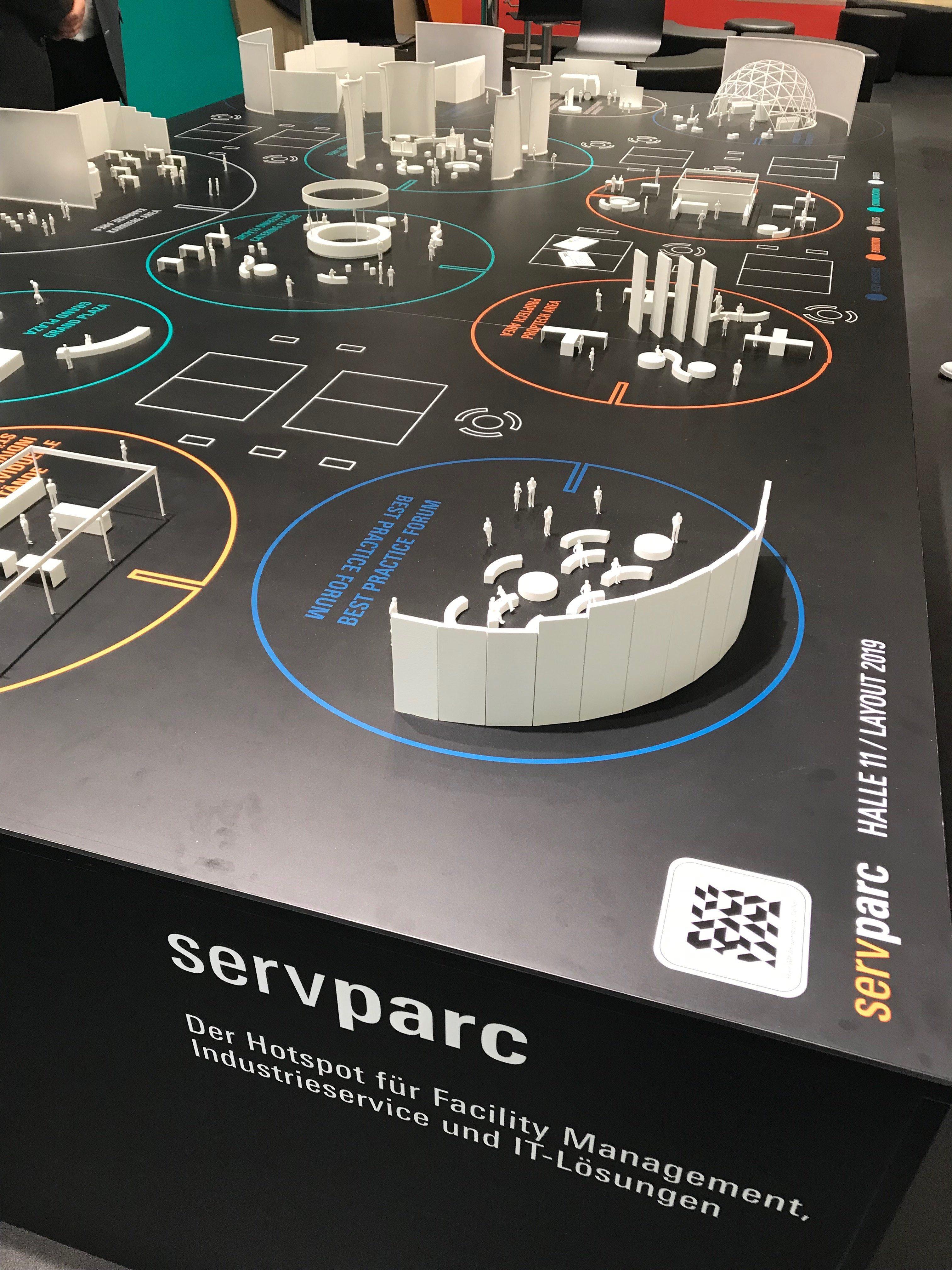 Bild von Modell von servparc