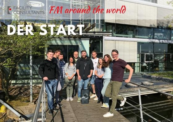 """Bild von """"FM around the world"""" mit Facility Consultants-Mitarbeitern"""