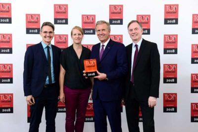 Top Consultants 2018-Preisverleihung