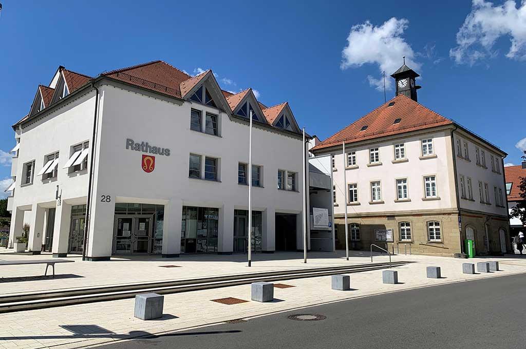 Stadtmitte von Nufringen